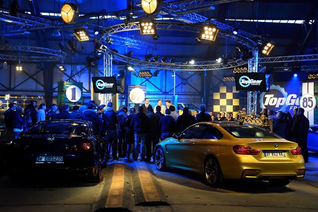 Plateau TV de l'émission Top Gear France